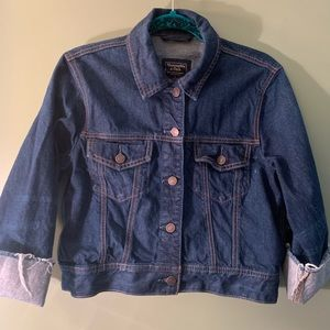 Abercrombie and Fitch cropped denim jacket